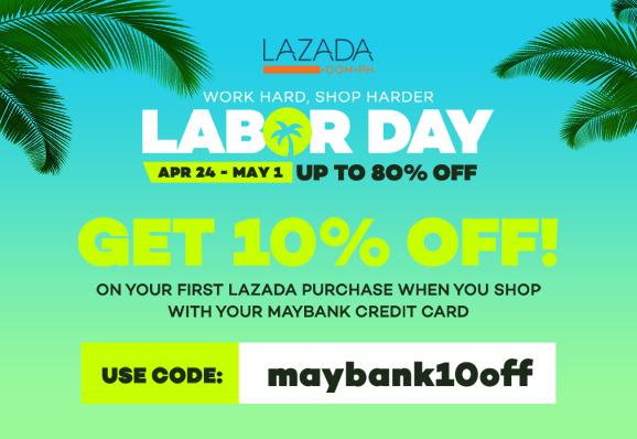 Lazada Labor Day Sale