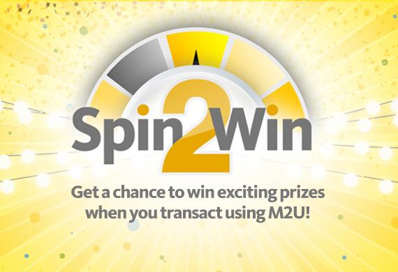 M2U Spin2Win Promo