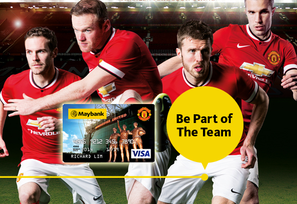 manchester united credit card - United Visa Credit Card