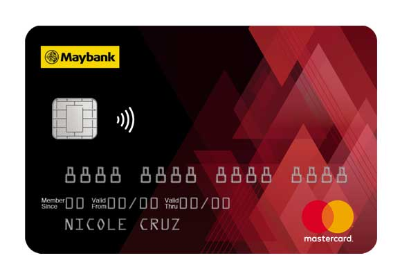how to pay maybank credit card via atm